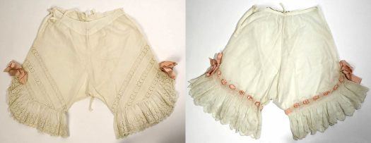 Edwardian ladies underpants