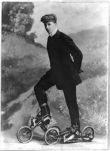 1910 Roller Skates