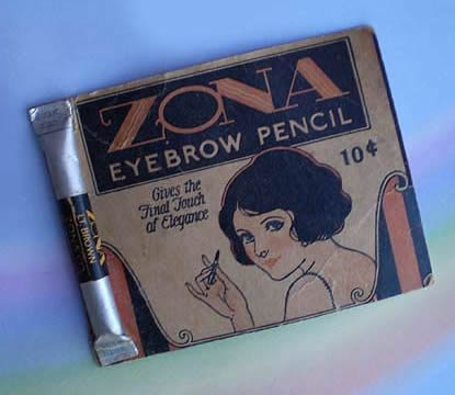 zona edwardian makeup eyebrow pencil