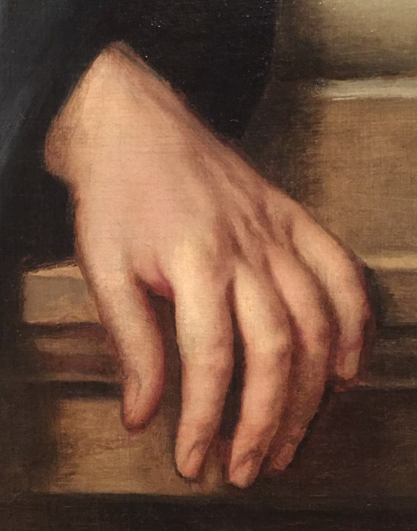 "Hands in Paintings (SAM): Anthony van Dyck, ""Pompone II de Bellièvre,"" ca. 1638-39, oil on canvas, 54 x 43 1/2 in (137.2 x 110.5 cm), Seattle Art Museum - Detail"