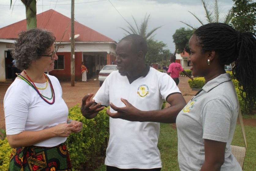 GCA team with Dr Veronika