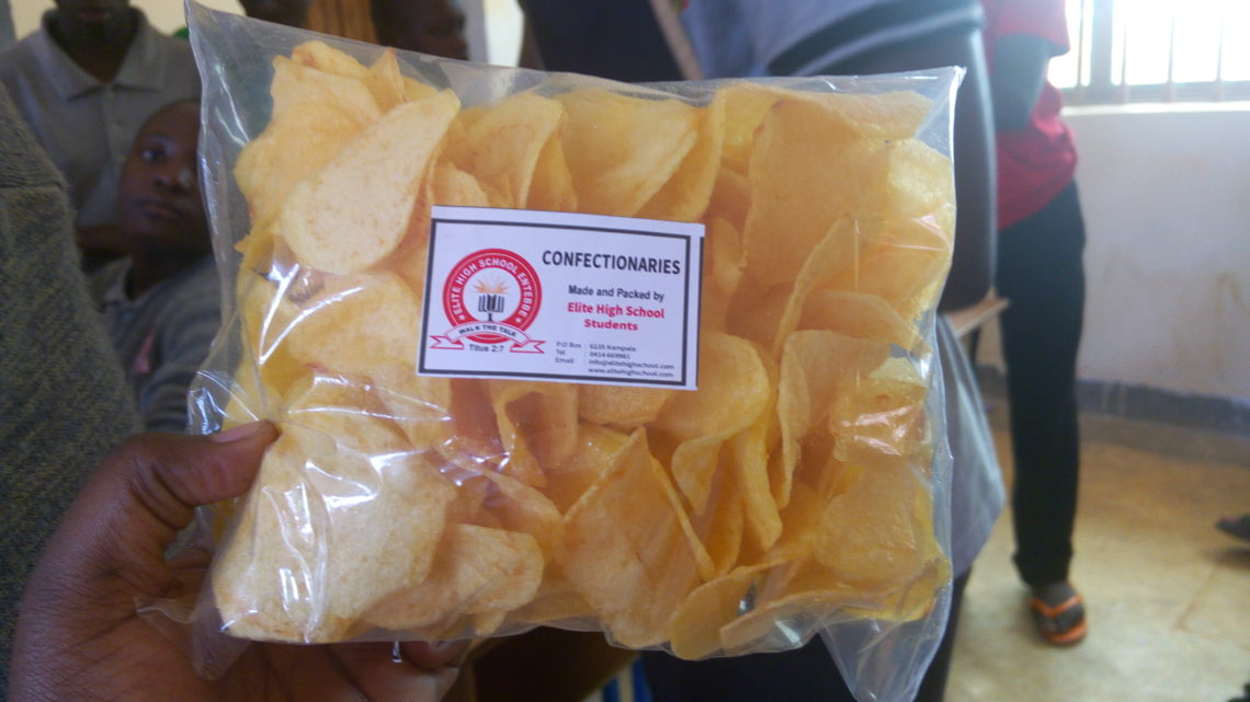 Snacks made by Elite High School Student under GCA