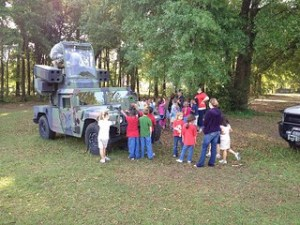 Irby Elementary Vehicle Day