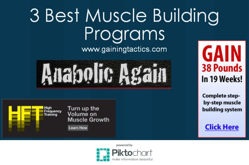best muscle building progam for men