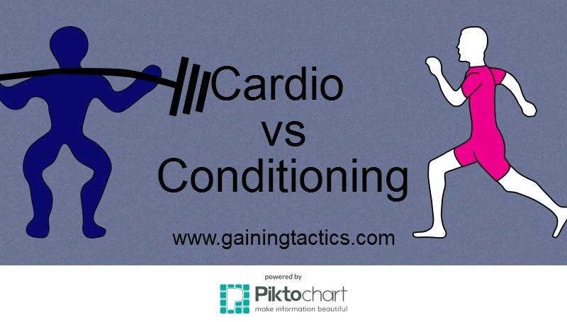 Cardio vs Conditioning – Setting The Record Straight