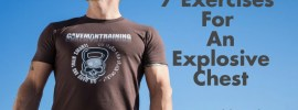 exercises for explosive chest
