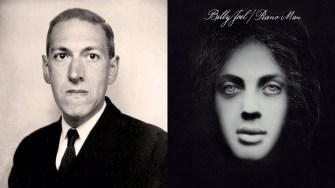 """H.P. Lovecraft's Poem """"Nemesis"""" Gets Unexpectedly Sung to the Tune of Billy Joel's """"Piano Man"""""""