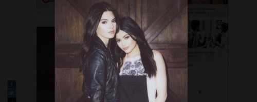 Kylie & Kendall… Rompen el internet, ellas sí.