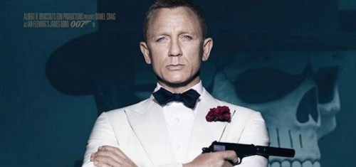 James Bond y La Catrina en Spectre