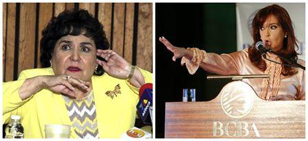 Carmen Salinas y la presidenta de Argentina ¿un punto de encuentro?