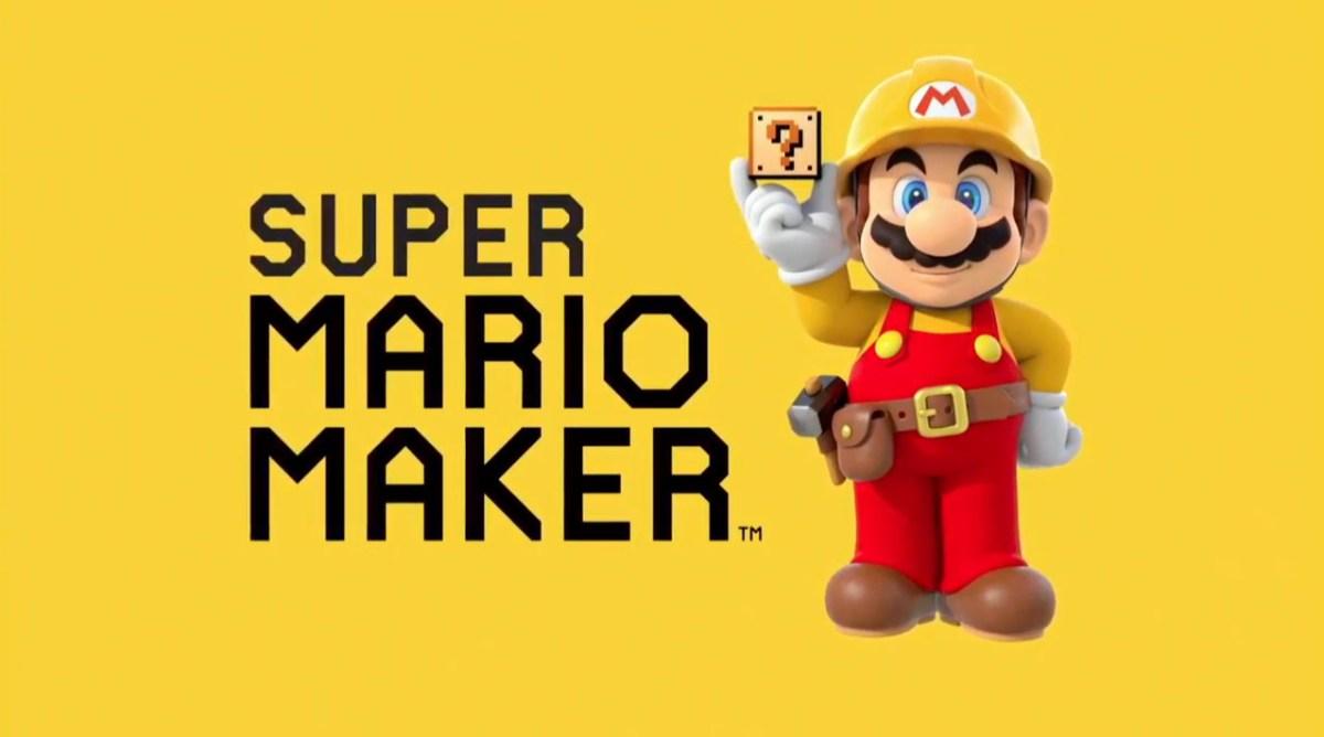 Super Mario Maker: Crea tu propio nivel y compártelo con el mundo