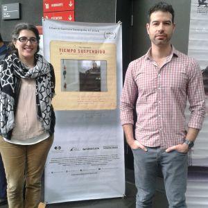 Los realizadores Natalia Bruschtein y David Pablos (Foto: Juárez Góngora).