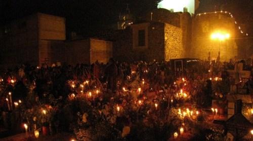 La fiesta de los muertos en Mixquic