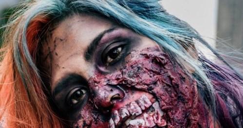La marcha Zombie 2015 en el DF   Fotos