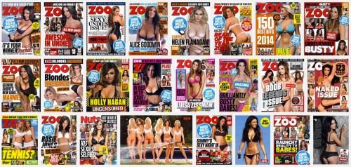 """FHM y Zoo, revistas """"Para Caballeros"""", desaparecerán en el Reino Unido"""