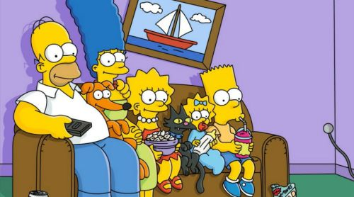 Los Simpson se solidarizan con París