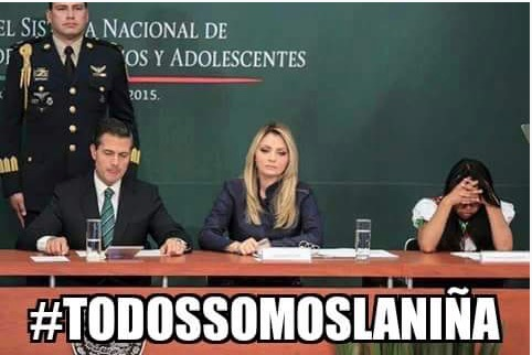 #TodosSomosLaNiña