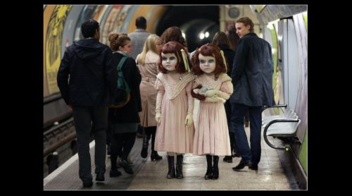 Video: Muñecas victorianas aterrorizan Londres