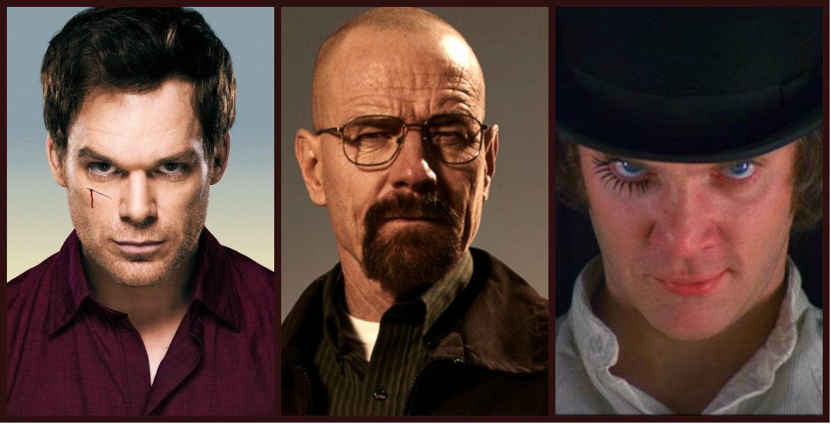 5 personajes sociópatas del cine y la Tv