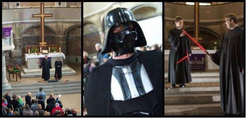 Star Wars: Celebran ceremonia religiosa en honor a El Despertar de la Fuerza
