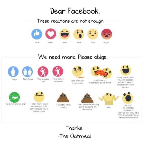 Facebook reactions, los memes | Memeando