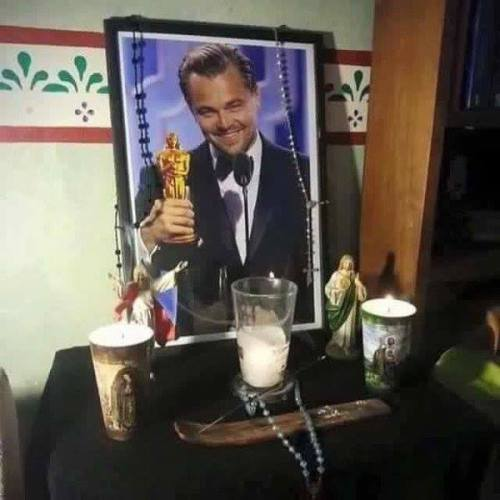 Cruzando los deditos por Leonardo DiCaprio