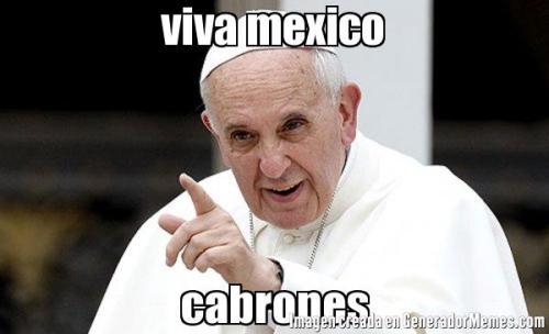 El Papa Francisco en México | Memeando