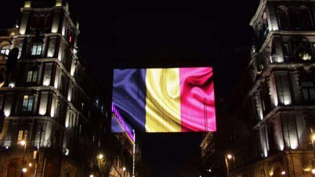 Video: la CDMX se ilumina con los colores de Bélgica