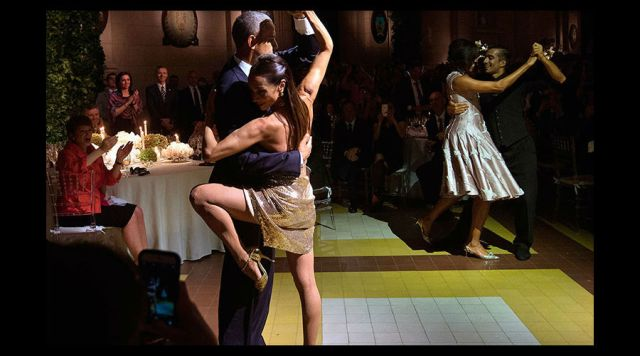Video: El tango se le da a Barack Obama
