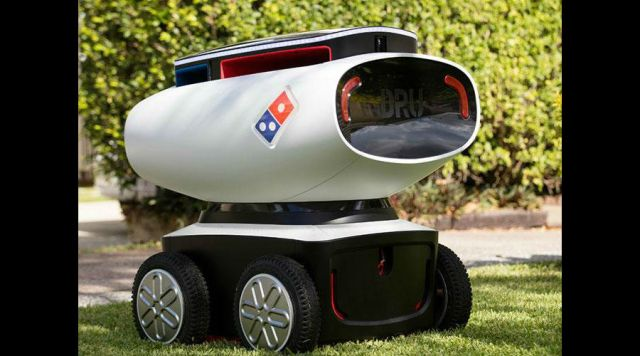 Video: el primer robot repartidor de pizzas