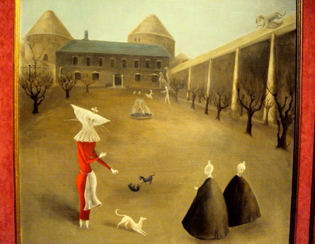 Leonora Carrington, Desposada del Viento