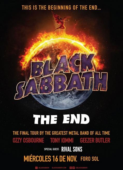 Black Sabbath arrancará gira del adiós en el Foro Sol