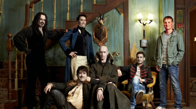 """What we do in the shadows"": Los vampiros también tienen que lavar platos"