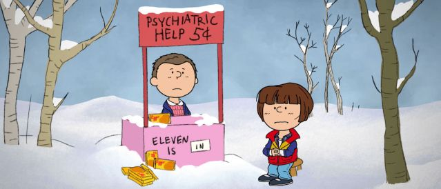 "Video: Cuando ""Stranger Things"" y Charlie Brown se encuentran"
