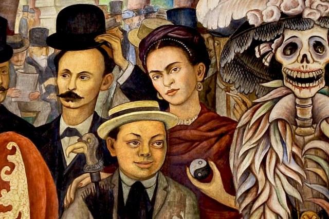 Catrina y Frida Detalle