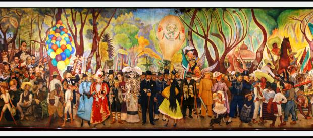 Sueño de una tarde dominical Diego Rivera