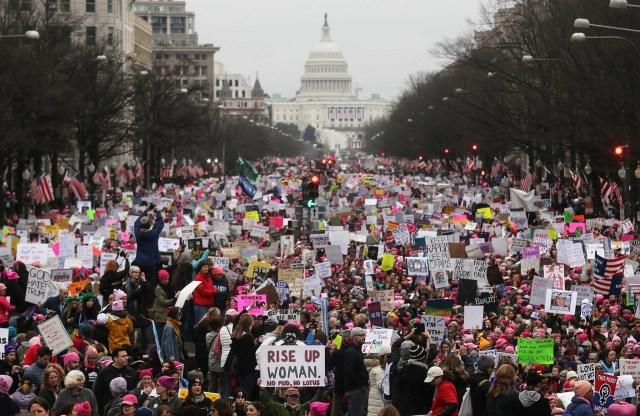 #WomensMarch; la resistencia de las mujeres