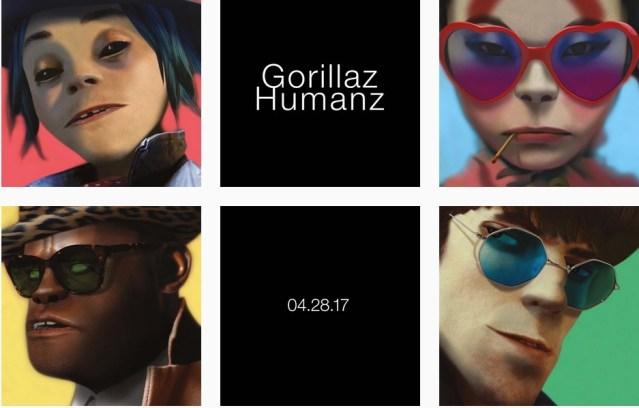 Gorillaz #Humanz   la emoción nunca se fue