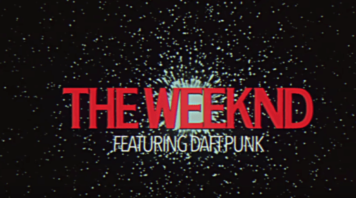 Daft Punk en video The Weenkd, I feel it coming