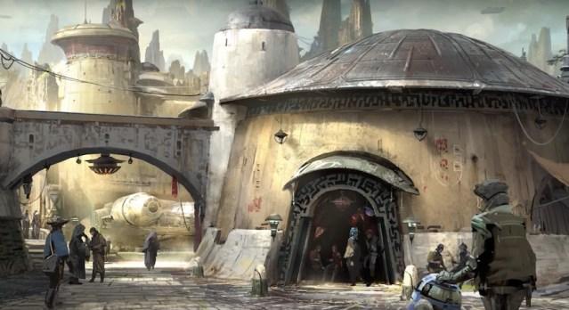 Video: detalles de la atracción de Star Wars en Disneyworld