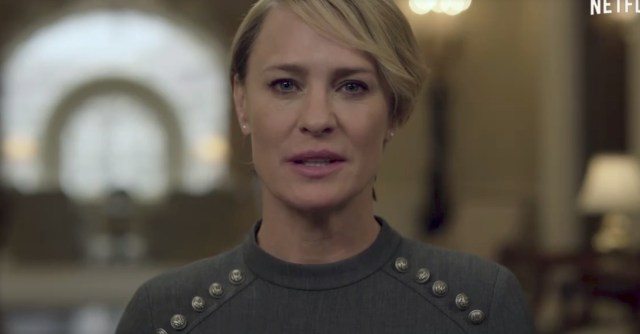 Video: Tráiler de la temporada 5 de House of Cards