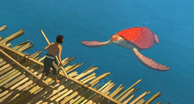 La tortuga roja: el hombre y la aplastante naturaleza
