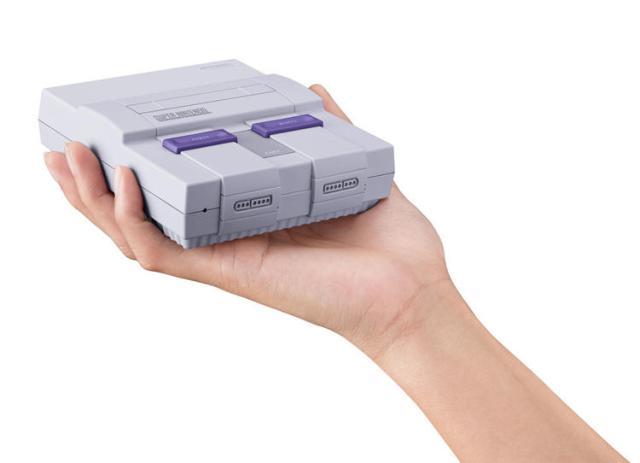 Nintendo anuncia la versión mini del SNES