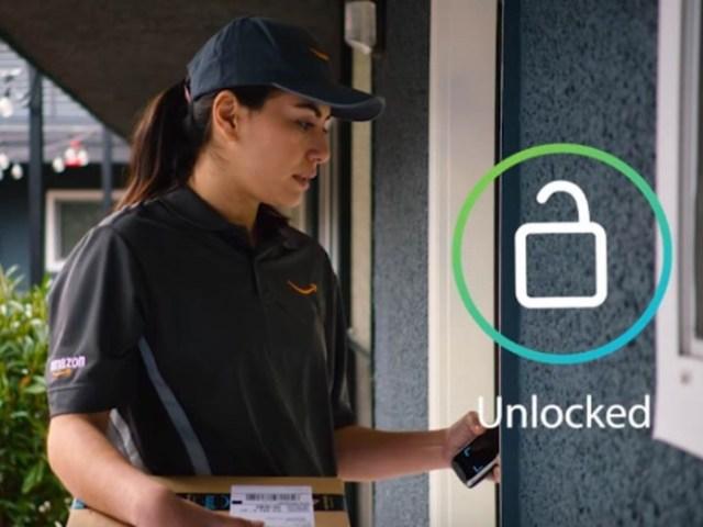 Amazon podrá entrar en casa de cliente y dejar el paquete