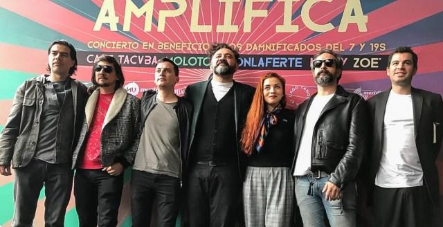 En vivo, Amplifica: Café Tacvba, Molotov y más