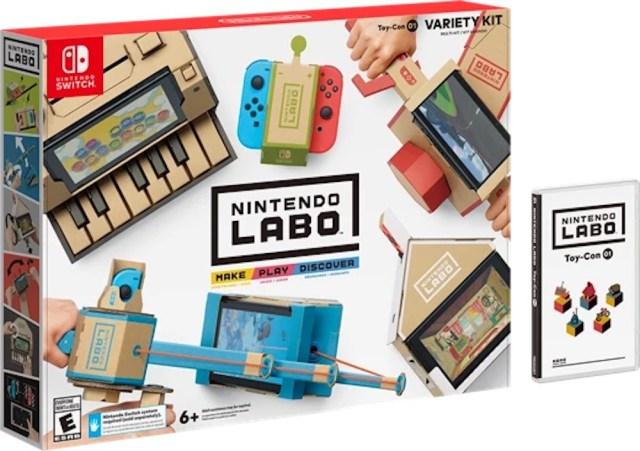 Cartón, el nuevo gran aliado de Nintendo para su propuesta Labo
