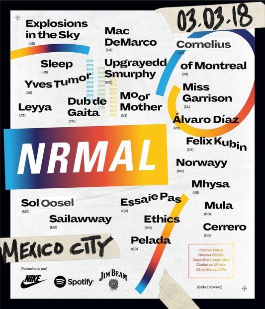 Mac DeMarco y of Montreal encabezan el festival Nrmal