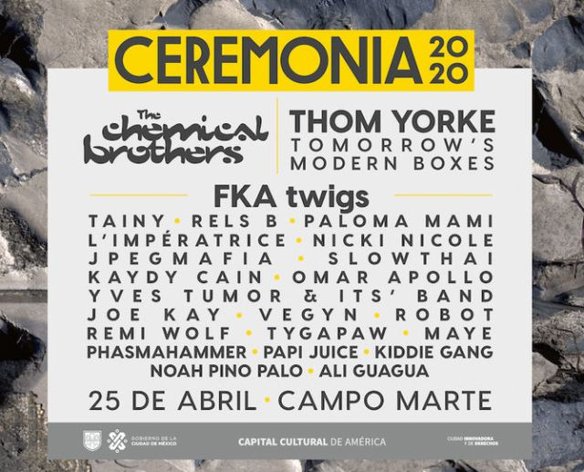 Thom Yorke y FKA Twigs encabezan el Festival Ceremonia 2020