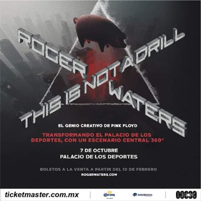 Roger Waters volverá a México con show 360