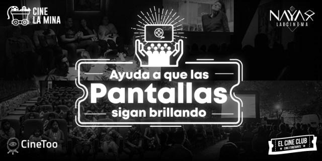 #PorAmorAlCine: Ayuda a que las pantallas sigan brillando